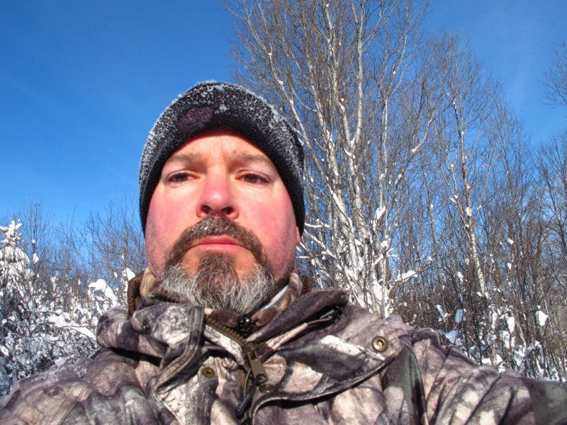 -14C but calm with no wind. Great morning to be out.