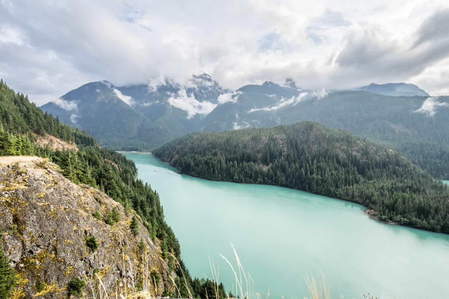 Diablo Lake in Washington State
