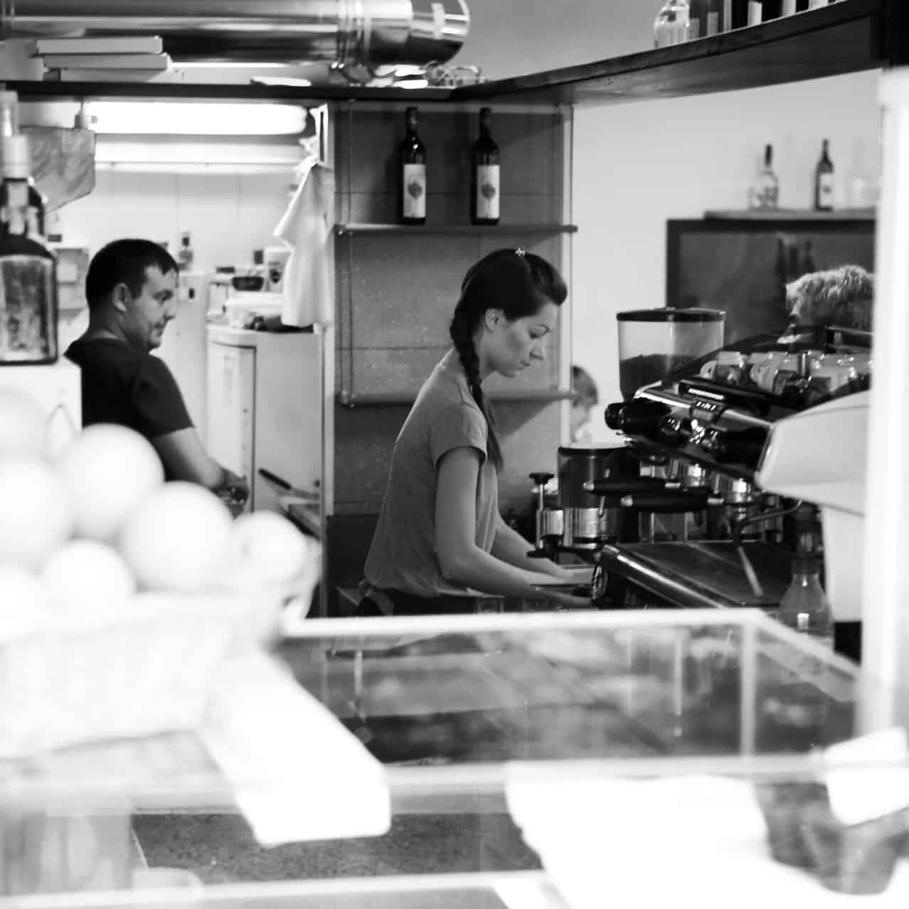 Portraits of Italy: barista in Riomaggiore