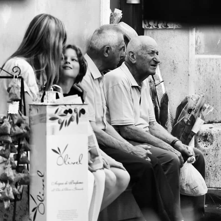 Portraits of Italy: market day San Quirico d'Orsia