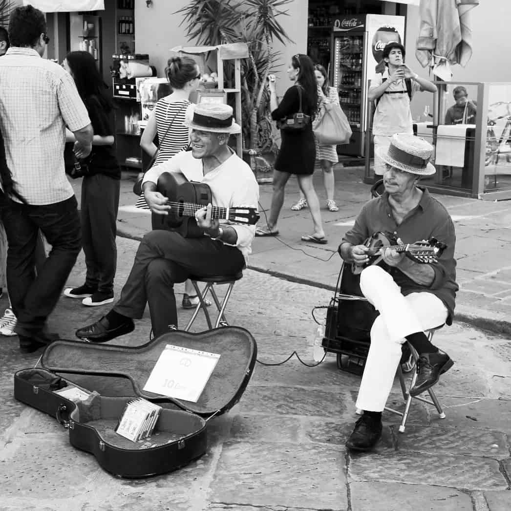 Portraits of Italy: street musicians in Florence