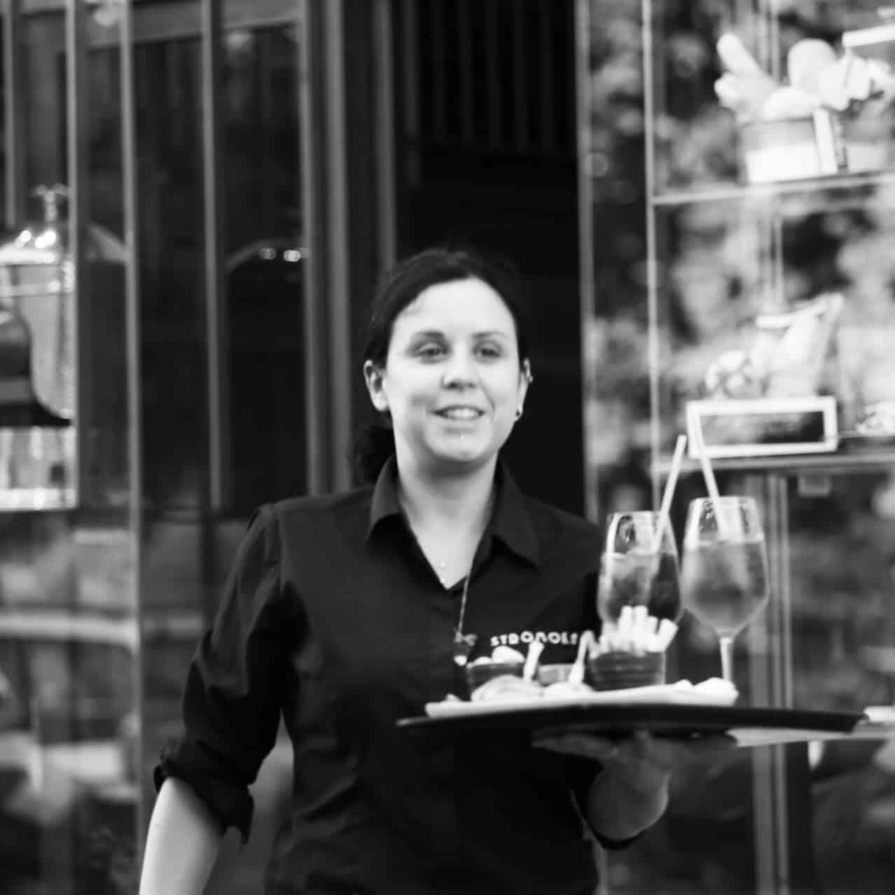 Portraits of Italy: waitress in Arona