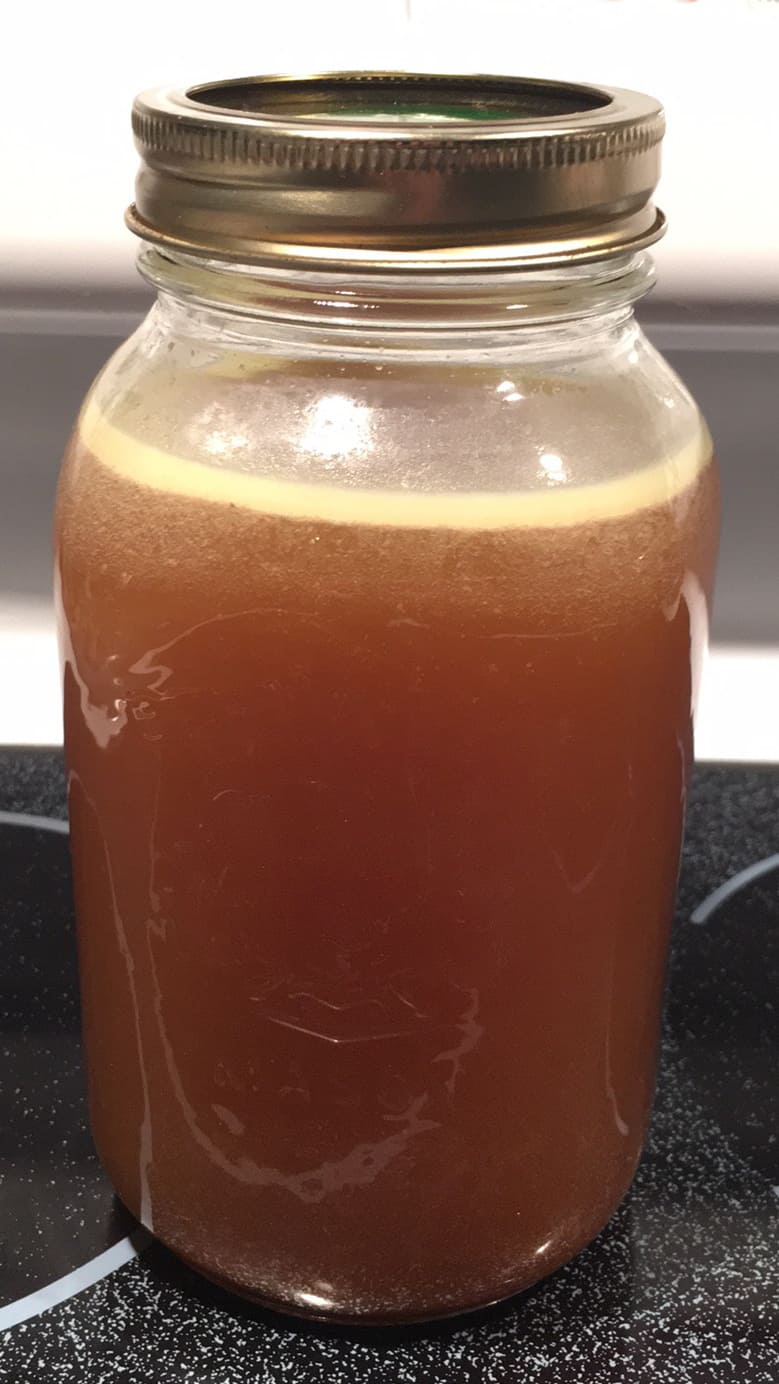 Bone Broth in Jar